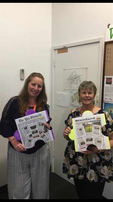 Alexandra Standard and Yea Chronicle have loved keeping us up to date during 2020